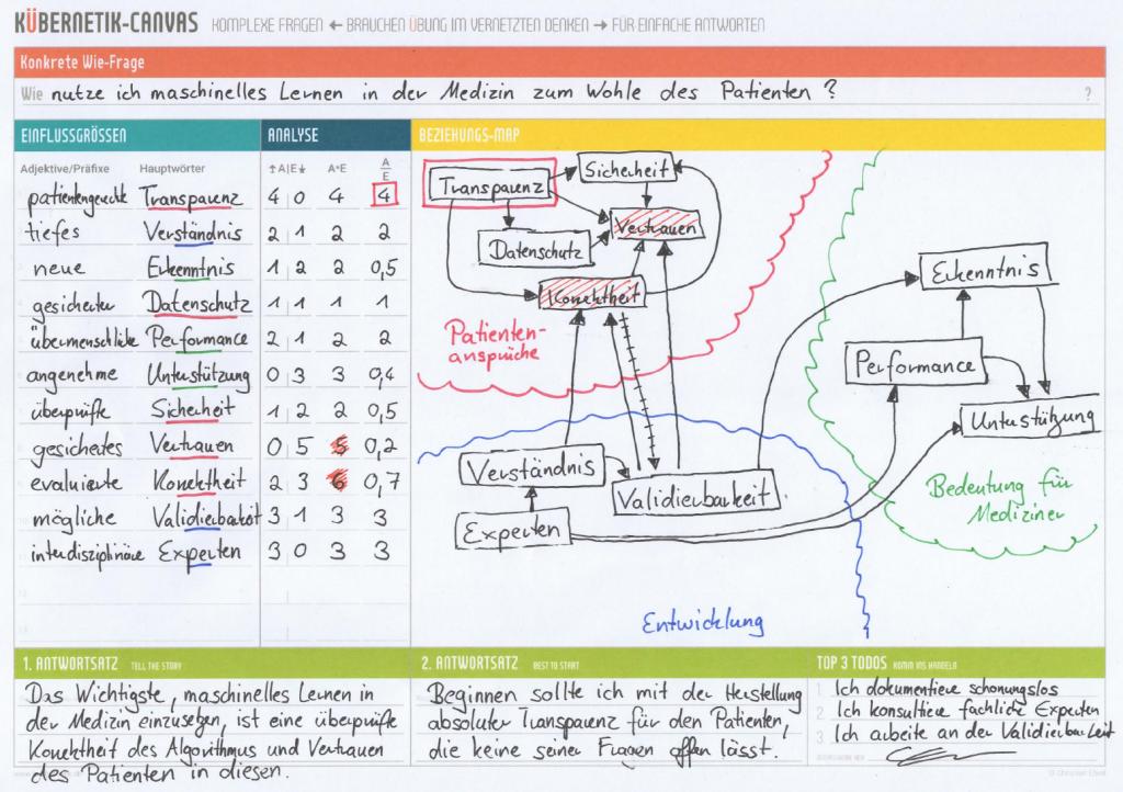Experten-Kübernetik von Christopher Gundler zu Machine-Learning in der Medizin