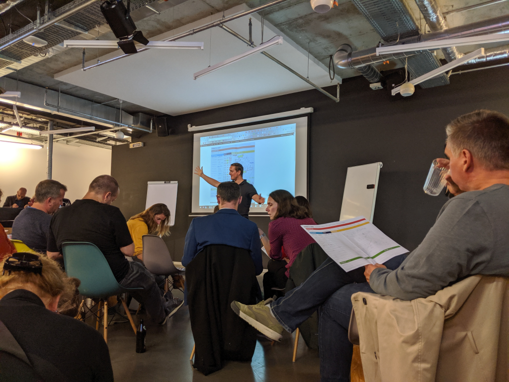Kübernetik-Workshop bei der YOTX Academy im Telefonica Inkubator wayra