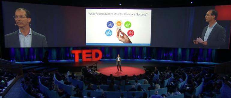 Bill Gross bei TED zur Frage der Erfolgs-Faktoren für Startups